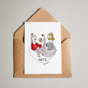 au coeur de Metz